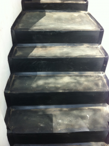 mastic asphalt steps
